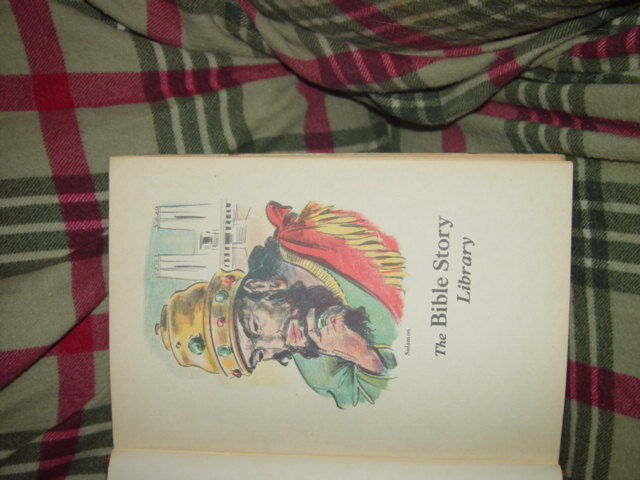 The Bible Story Libray 1957 Hardcover Volume 3From Solomon To The Roman Conquest image 8