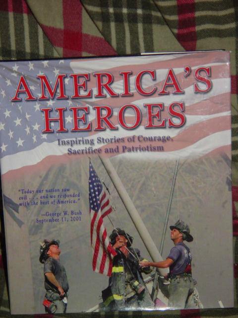 America's Heroes Inspiring Stories of Courage, Sacrifice, & Patriotism 2001 HC image 2