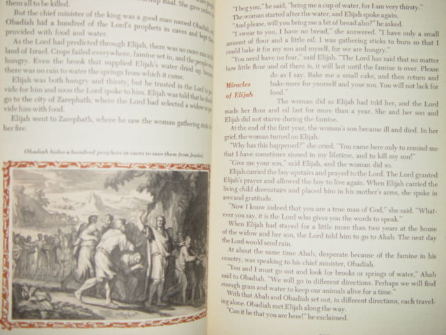 The Bible Story Libray 1957 Hardcover Volume 3From Solomon To The Roman Conquest image 9