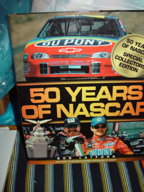 50 YearsOf Nascar Specal Collectors Edition By Bob Latford  Hardcover