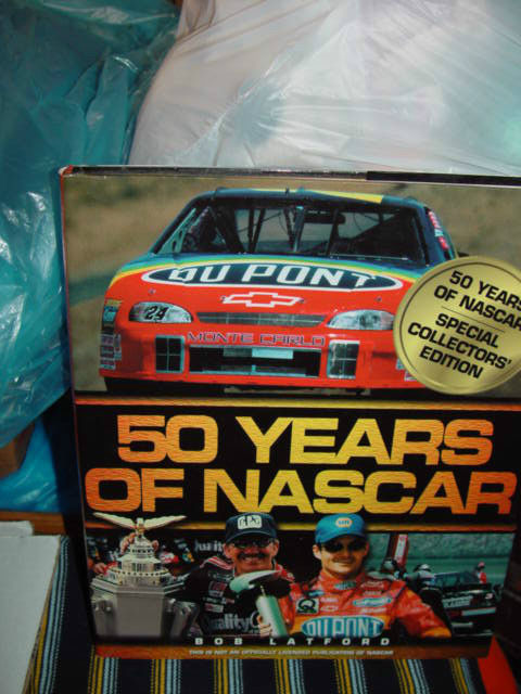 50 YearsOf Nascar Specal Collectors Edition By Bob Latford  Hardcover image 3