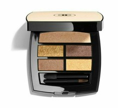 CHANEL Les Beiges Healthy Glow Natural Eyeshadow Palette Deep NIB AUTHEN... - $79.99