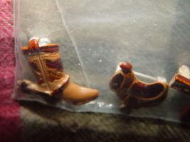 Set of 3 Cowboys Pins Boot, GunBelt, And Saddle image 6