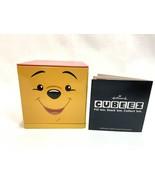 NEW Hallmark Cubeez Disney Winnie the Pooh Bear Storage Tin Sept. 2014 - $12.86