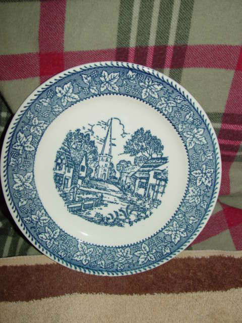 "Homer Laughlin Shakespeare Country Stratwood Collection 7 1/4"" Plate"
