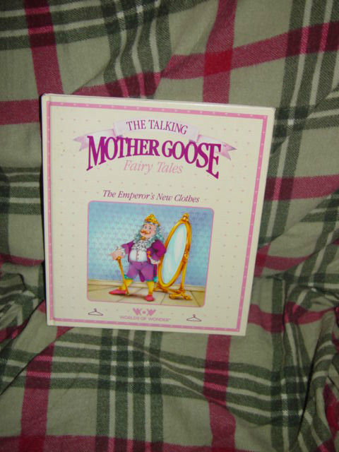 The Talking Mother Goose Fairy Tales The Emperor's New Clothes (1986, Hardcover)