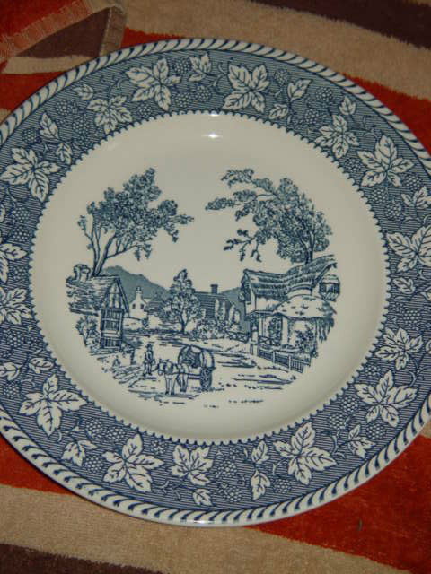 """Homer Laughlin Shakespeare Country Stratwood Collection 10"""" Dinner Plate"""
