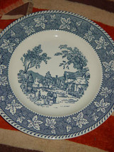 """Homer Laughlin Shakespeare Country Stratwood Collection 10"""" Dinner Plate image 1"""