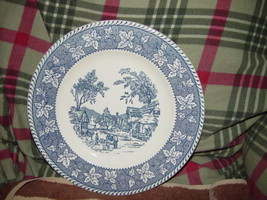 """Homer Laughlin Shakespeare Country Stratwood Collection 10"""" Dinner Plate image 3"""