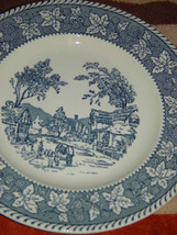 """Homer Laughlin Shakespeare Country Stratwood Collection 10"""" Dinner Plate image 4"""
