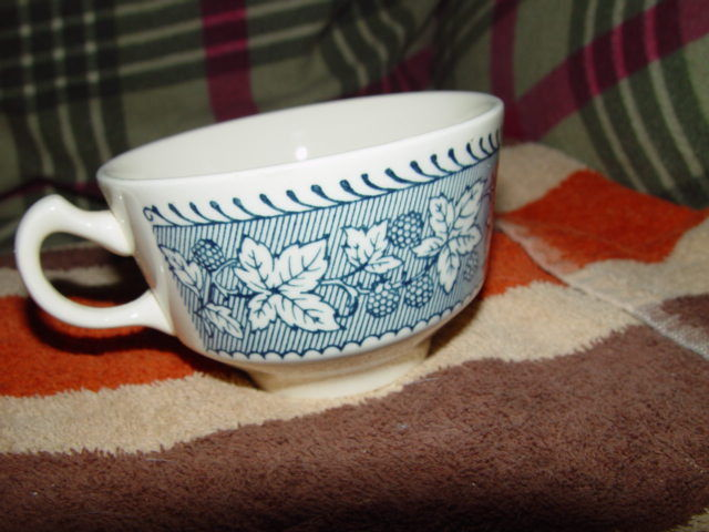Homer Laughlin Shakespeare Country Stratwood Collection Cup image 5