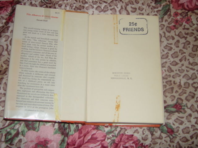 The Albatross and Other Stories by Susan Hill 1975 Hardcover image 4