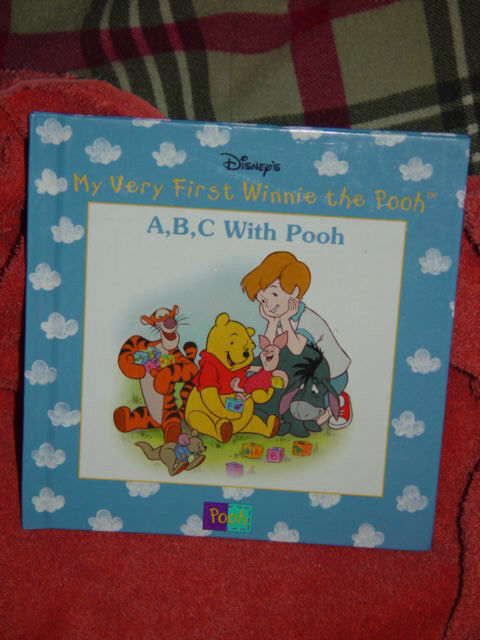 Disney's My Very First Winnie The Pooh A,BC With Pooh Hardback 1999