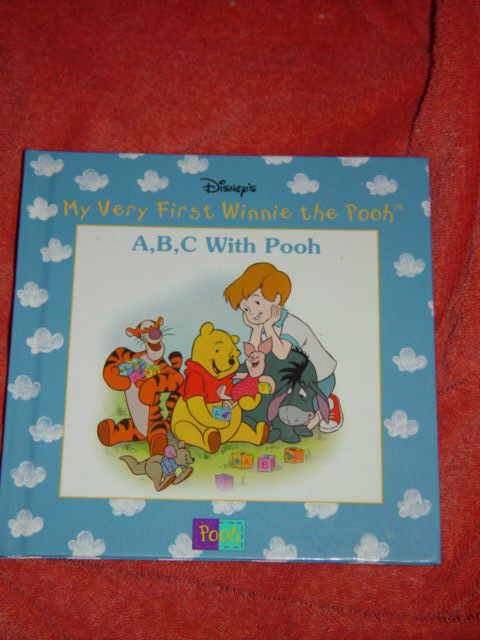 Disney's My Very First Winnie The Pooh A,BC With Pooh Hardback 1999 image 3