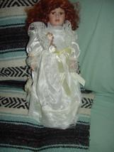Red Hair Porcelain Doll image 2