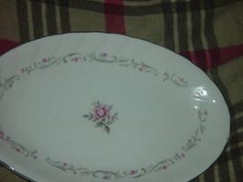 Royal Swirl  Fine China Japan Oval Serving Dish / Plate Vintage image 3