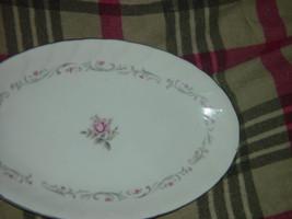 Royal Swirl  Fine China Japan Oval Serving Dish / Plate Vintage image 2