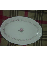 Royal Swirl  Fine China Japan Oval Serving Dish / Plate Vintage - $24.00