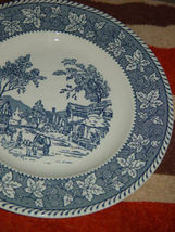 """Homer Laughlin Shakespeare Country Stratwood Collection 10"""" Dinner Plate image 6"""