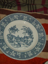 """Homer Laughlin Shakespeare Country Stratwood Collection 10"""" Dinner Plate image 7"""