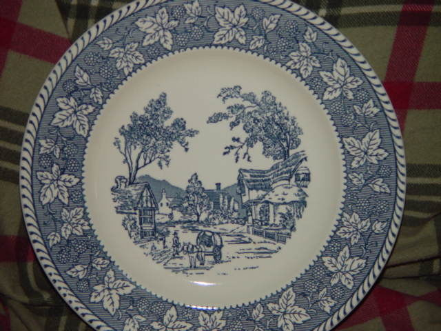 """Homer Laughlin Shakespeare Country Stratwood Collection 10"""" Dinner Plate image 8"""