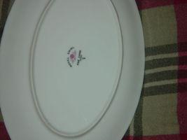 Royal Swirl  Fine China Japan Oval Serving Dish / Plate Vintage image 5