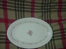 Royal Swirl  Fine China Japan Oval Serving Dish / Plate Vintage image 7