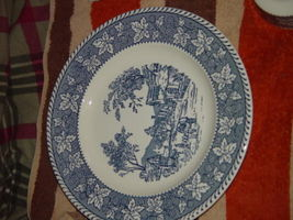 """Homer Laughlin Shakespeare Country Stratwood Collection 10"""" Dinner Plate image 9"""