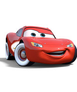 Lighting Mcqueen From Cars 5 x 7 Color Photo - $5.56