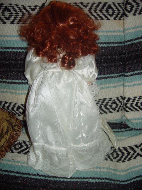 Red Hair Porcelain Doll image 6