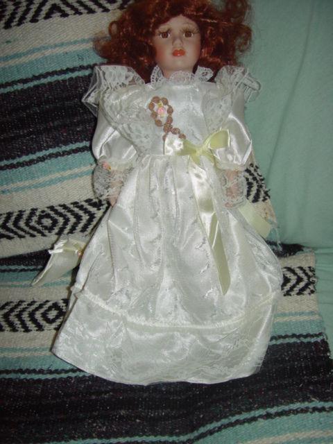 Red Hair Porcelain Doll image 7