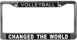 Volleyball Occupy Wall Street License Plate Frame (Stainless Steel) - $13.99