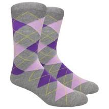 Urban-Peacock Men's Dress,Trouser & Groomsmen Socks -Heather Grey Argyle... - $9.95+