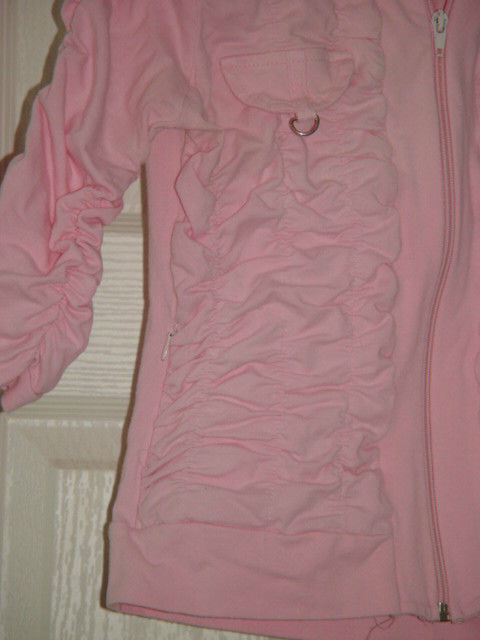 Jazzie Pink Light Jacket Size M Juniors image 2
