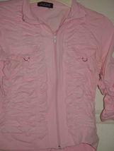 Jazzie Pink Light Jacket Size M Juniors image 7