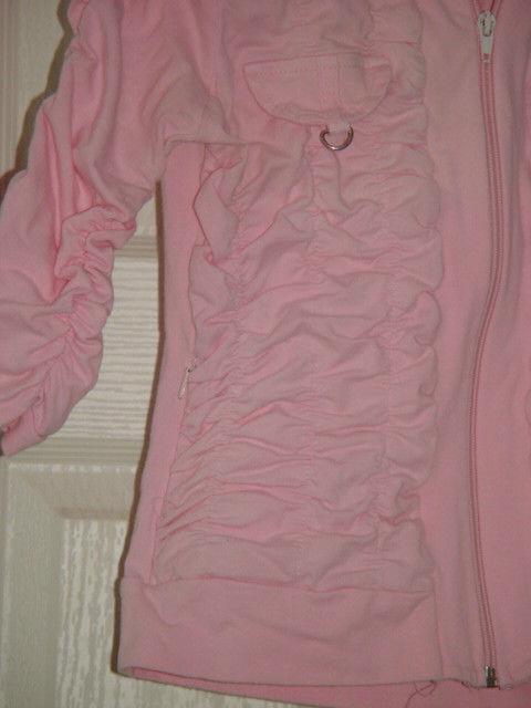Jazzie Pink Light Jacket Size M Juniors image 8