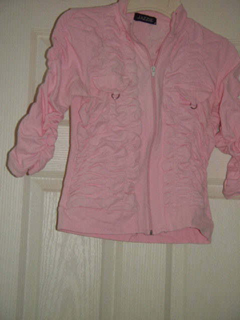 Jazzie Pink Light Jacket Size M Juniors image 9