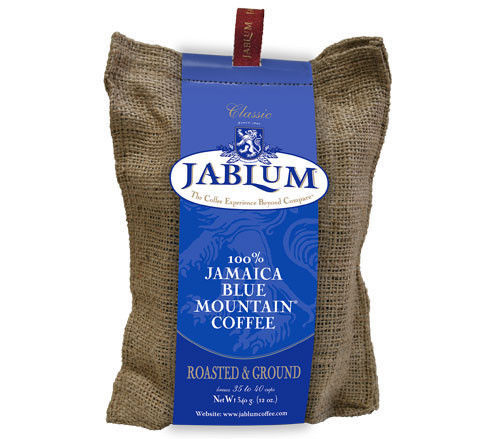 SALE: (2) 100% Jamaican Blue Mountain Coffee  (Jablum Roasted & Ground) 16 oz