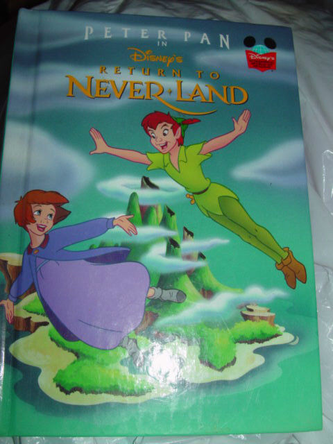 Peter pan In Disney's Return To Never Land 2002