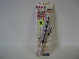 L'Oreal LE KOHL DUO Defining Pencil Eyeshadow ##BLACK VANILLA 215 - $4.88