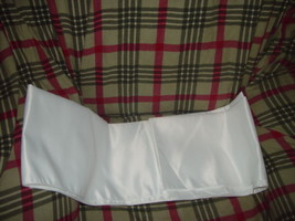 "White Wrap For Wedding  Dress 77"" x 18"" wide image 4"
