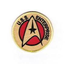 Star Trek Classic TV Series U.S.S. Enterprise Command Logo Embroidered P... - $7.84