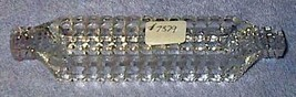 Vintage Press Pattern Glass Individual Olive Relish Tray - $8.00