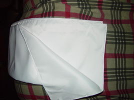 "White Wrap For Wedding  Dress 77"" x 18"" wide image 5"