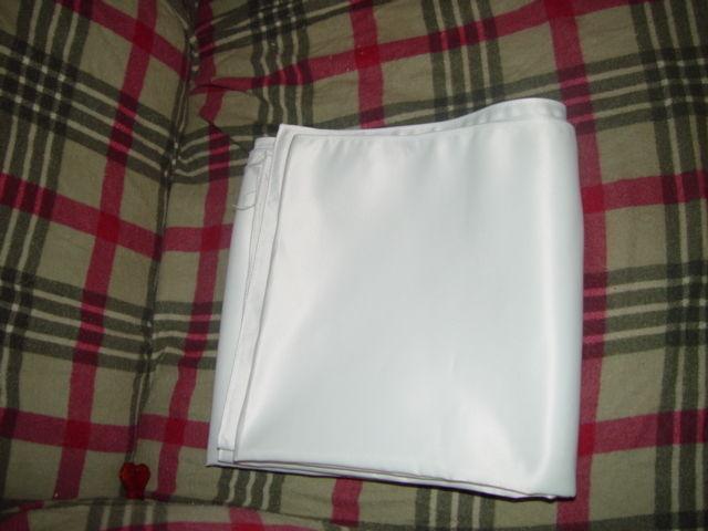 "White Wrap For Wedding  Dress 77"" x 18"" wide image 7"