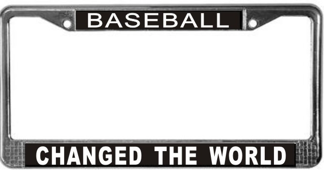 Primary image for Baseball Occupy Wall Street License Plate Frame (Stainless Steel)