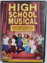 DVD  -  HIGH  SCHOOL  MUSICAL  -  MOVIE - $3.00