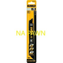 Dewalt Xr 5-Pk 8-in 10/-TPI Metal Cutting Reciprocating Blade New Free Shipping* - $12.58