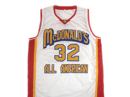Lebron James #32 McDonald's All American Basketball Jersey White Any Size image 4