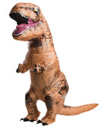 Jurassic World Inflatable T-Rex Adult Dinosaur Costume NWT by Rubies™ - $96.61 CAD